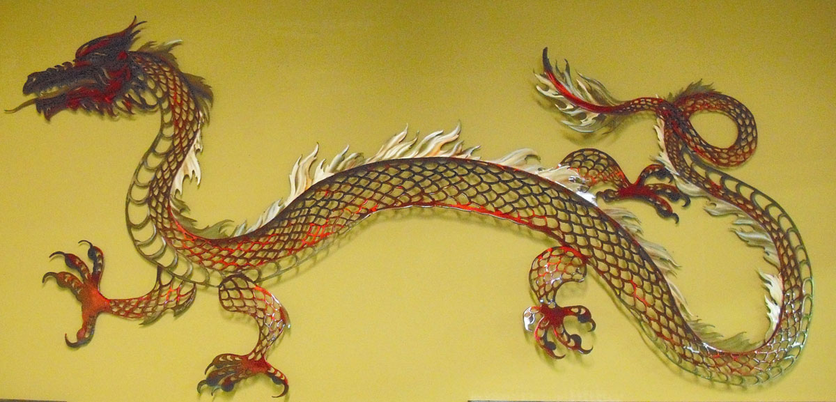 Amazing Metal Lizard Wall Art Vignette - Wall Art Collections ...